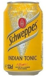 Schweppes Indian Tonic blik 24 x 33 cl