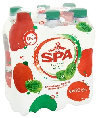 Spa Touch of Mint pet 6 x 50 cl