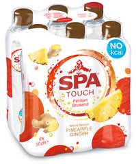 Spa Touch of Pineapple Ginger pet 6 x 50 cl