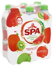 Spa Touch of Watermelon Kiwi pet 6 x 50 cl