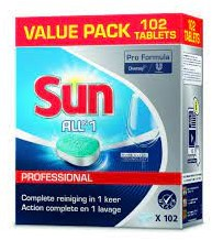 Sun Tabs Prof. All in one Tabs 102 st.