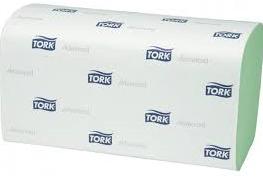 Tork H3 green singlefold 5 x 250 st