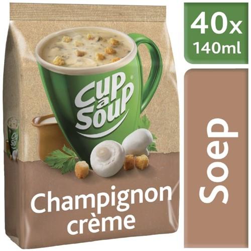 Cup à Soup Vending Champigon Creme  1 x zak  40  portie