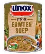 Unox Stevige Soep Erwten 12 blikken a 800 ml