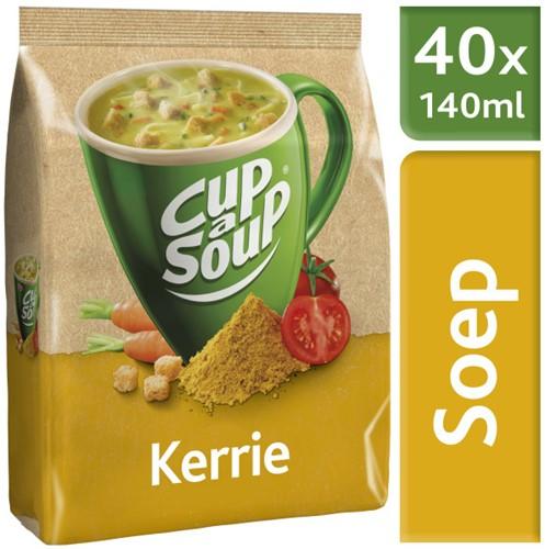 Cup á Soup Vending Kerrie doos 4 x zak á 40 portie