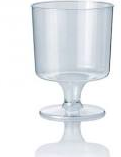 Wijnglas op voet 170 cc  helder doos 60 x 12 st