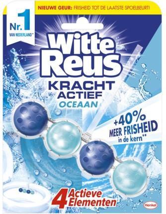 Witte reus WC blok Kracht actief Oceaan 3 x 50 gr.