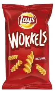 Lay's Wokkels naturel doos 20 x 125 gr