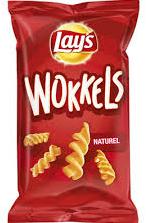 Lay's Wokkels naturel doos 18 x 115 gr